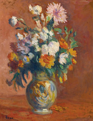 Art Prints of Bouquet of Flowers by Maximilien Luce