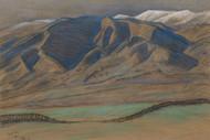Art Prints of Rolling Foothills by Maynard Dixon