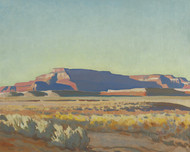Art Prints of Striped Mesa by Maynard Dixon
