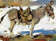 Art Prints of The Little Burro by Nicolai Fechin