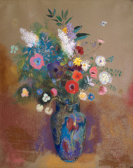 Art Prints of Bouquet of Flowers by Odilon Redon
