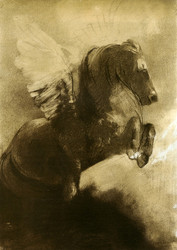 Art Prints of Pegasus II by Odilon Redon