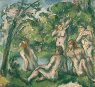 Art Prints of Bathers 2 by Paul Cezanne