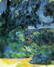 Art Prints of Blue Landscape by Paul Cezanne