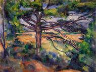 Art Prints of Large Pine by Paul Cezanne