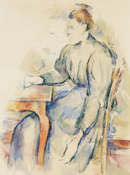 Art Prints of Madame Cezanne by Paul Cezanne