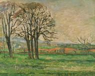 Art Prints of The Bare Trees at Jas de Bouffan by Paul Cezanne