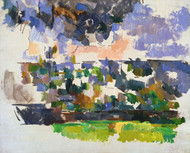 Art Prints of The Garden at Les Lauves by Paul Cezanne
