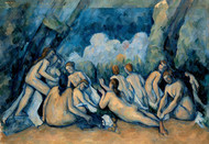 Art Prints of The Bathers II by Paul Cezanne