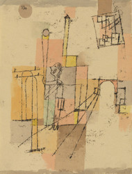 Art Prints of Before the Festivity by Paul Klee
