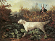 Art Prints of Sportsman with English Setter and a Pheasant by Philip Reinagle