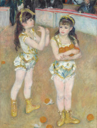 Art Prints of Acrobats at the Cirque Fernando by Pierre-Auguste Renoir