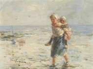 Art Prints of By the Shore by Robert Gemmell Hutchison
