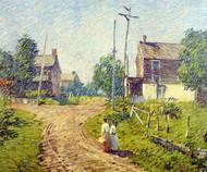 Art Prints of Crossroad, 1918 by Robert Spencer