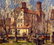 Art Prints of A Day in March by Robert Spencer