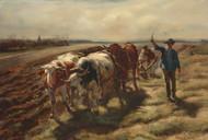 Art Prints of Oxen Plowing by Rosa Bonheur