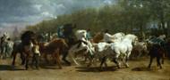 Art Prints of The Horse Fair by Rosa Bonheur