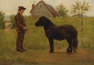 Art Prints of Training the Pony by Rosa Bonheur