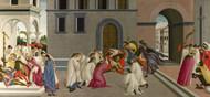 Art Prints of Three Miracles of Saint Zenobius II by Sandro Botticelli