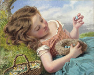 Art Prints of The Thrush's Nest by Sophie Anderson