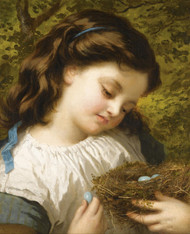 Art Prints of The Bird's Nest by Sophie Anderson