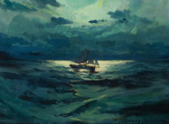 Art Prints of A Grimsby Fisherman by Sydney Laurence