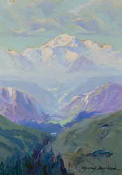 Art Prints of Mt. McKinley, Alaska, 1935 by Sydney Laurence