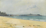 A Coastal Scene by Sydney Laurence
