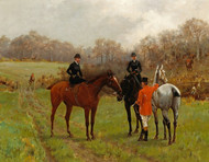 Art Prints of A Pause During the Hunt by Thomas Blinks