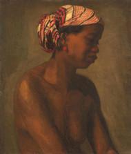 Female Model by Thomas Eakins