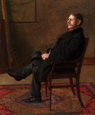Frank Jay St. John 1900 by Thomas Eakins