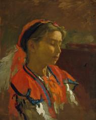 Carmelita Requena by Thomas Eakins