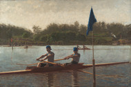 Art Prints of The Biglin Brothers Turning the Stake by Thomas Eakins