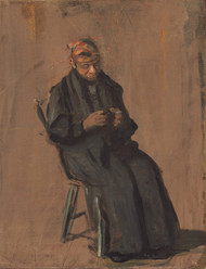 Art Prints of The Chaperone by Thomas Eakins