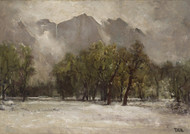 Art Prints of The Falls in Winter by Thomas Hill