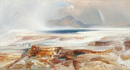 Art Prints of Hot Springs of the Yellowstone by Thomas Moran