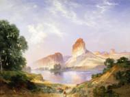Art Prints of An Indian Paradise, Green River, Wyoming by Thomas Moran