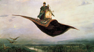 Art Prints of Flying Carpet by Viktor Vasnetsov