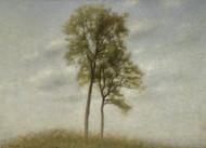 Art Prints of Young Oak Trees by Vilhelm Hammershoi