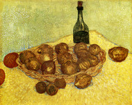 Art Prints of Basket with Lemons, 1888 by Vincent Van Gogh