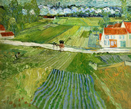 Art Prints of Landscape at Auvers after the Rain by Vincent Van Gogh