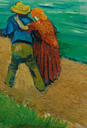 Art Prints of Arles, Two Lovers by Vincent Van Gogh