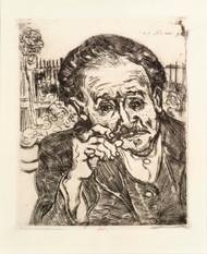 Art Prints of Dr. Gache by Vincent Van Gogh