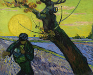Art Prints of The Sower by Vincent Van Gogh