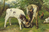 Art Prints of Feeding TIme by Walter Hunt