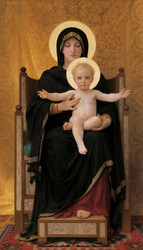 Art Prints of Virgin and Child by William Bouguereau