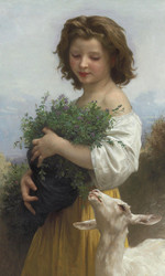 Art Prints of Little Esmerada by William Bouguereau