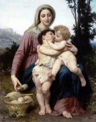 Art Prints of The Holy Family by William Bouguereau