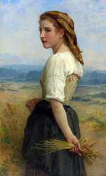 Art Prints of Glaneuse or Gleaner by William Bouguereau