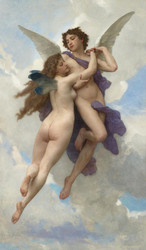 Art Prints of Love and Psyche by William Bouguereau